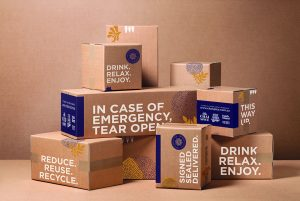 BRANDED CARDBOARD BOXES, CHAI SPICE