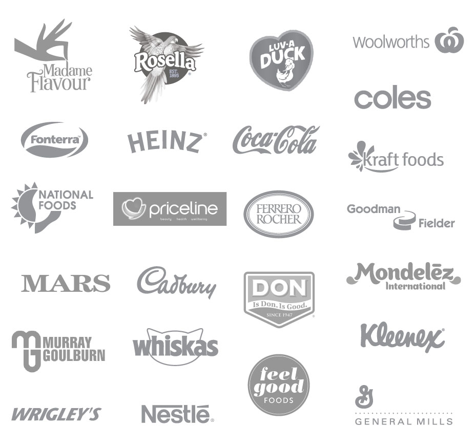 logos of brand Griffin Grace worked with