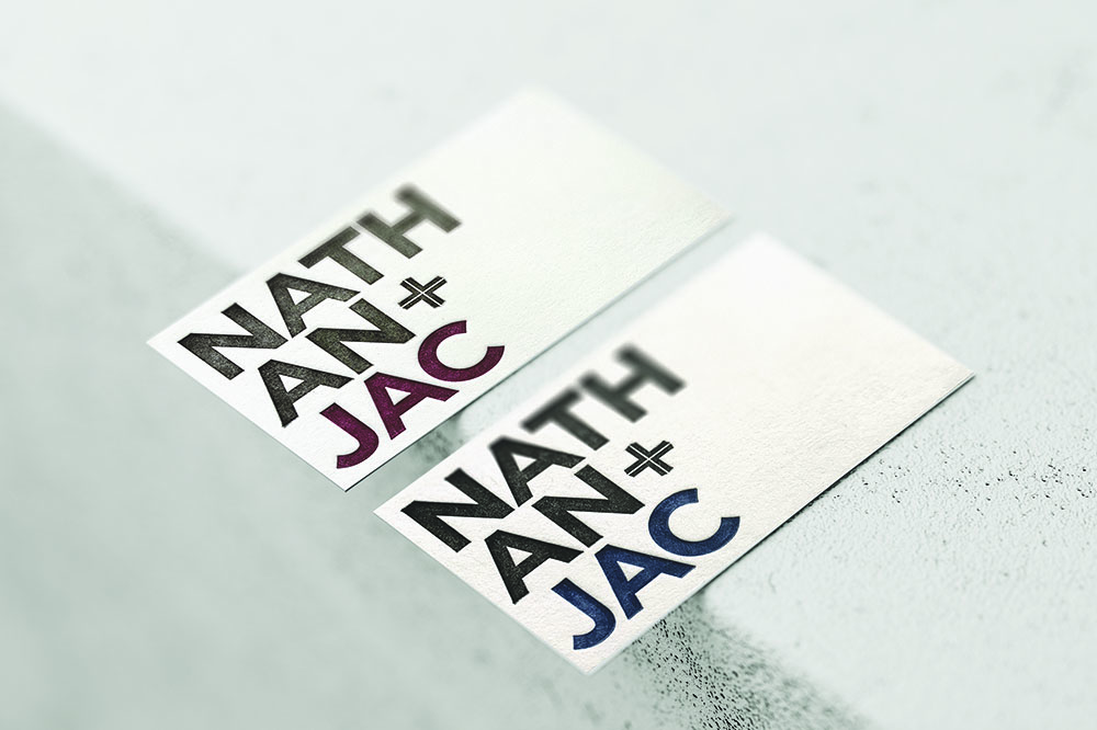 2 Nathan and Jac business cards