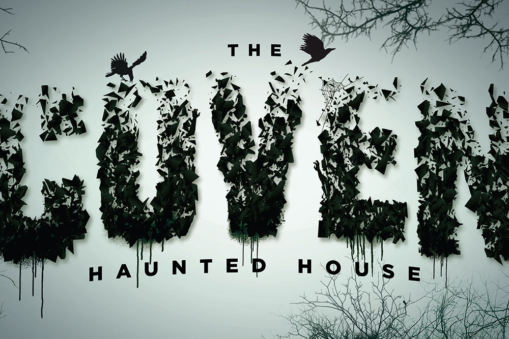 Graphic 'The Covern Haunted House'
